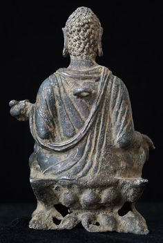 Bronze Seated Buddha 4. Bronze Seated Buddha  Gandhara, Pakistan 3rd � 4th Century AD Bronze Height: 15cm