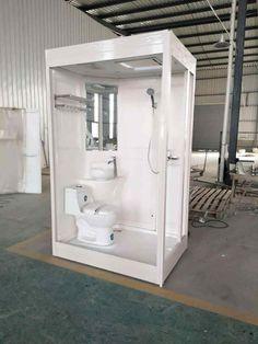Unit Bathroom, Camper Bathroom, Small Bathroom Storage, Bathroom Interior, Small Wet Room, Small Toilet Room, Tiny Bathrooms, Tiny House Bathroom, Iveco 4x4
