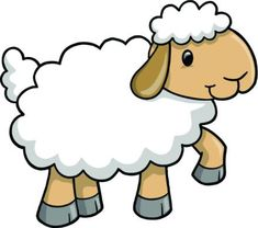 Illustration about Cute Lamb Sheep Vector Illustration. Illustration of farmyard, isolated, clip - 9872217 Camping Coloring Pages, Farm Animal Coloring Pages, Baby Farm Animals, Barn Animals, Clipart, Lamb Craft, Sheep Vector, Cute Lamb, Free Adult Coloring