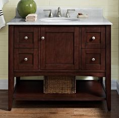 "Bathroom Furnishings | Vanities | 42"" Vanity 
