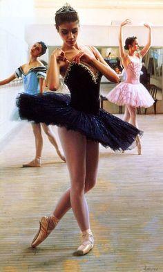 Ballerina  By  Douglas Hofmann