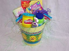 Toddler easter baskets chocolate candy free gifts from the sweet easter basket family dollar store items negle Gallery