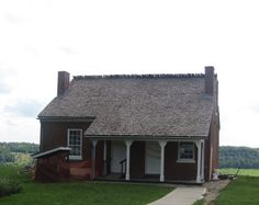 The land-side of the home of Rev. John Rankin who, along with his family, boarded thousands of escaped slaves onto the underground railroad to freedom in Canada.