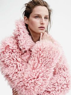 PRETTY IN A PINK COAT