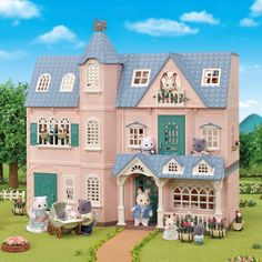 Sylvanian Families Deluxe Celebration Home Gift Set Maison Sylvanian Families, Cosy Cottage, Cat Mansion, Toys Uk, 35th Anniversary, Dream Baby, Hopscotch, Christmas Delivery, Large Homes