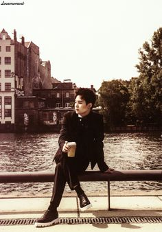 Suga min yoongi bts Bangtan boys 'NOW 2' photobook photoshoot in Germany