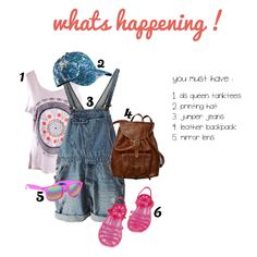 "Todal we'll reviewing ""what's happening"", Check this out girls :)"