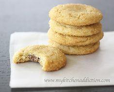 Caramel Stuffed Sugar Cookies | my kitchen addiction