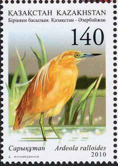 Squacco Heron stamps - mainly images - gallery format
