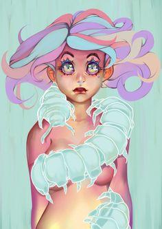 Digital Illustrations by Oskar Vega