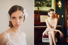 {Aria Vine} by Enchanted Atelier for Claire Pettibone, Photo by Elizabeth Messina
