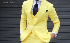 The Yellow Suit / Traje Amarillo by Absolute Bespoke