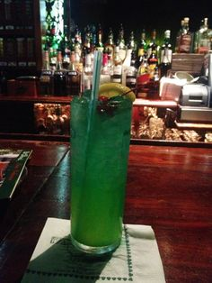 @Patricia K. O's Rainstorm cocktail is a great  #cocktail for #nola in the #summer