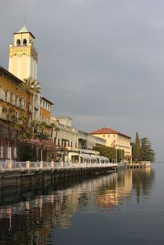 The Grand Hotel - Gardone Riviera, Lake Garda, Italy, province of Brescia Lombardy