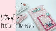 Tutorial portadocumentos muy fácil Mini Scrapbook Albums, Mini Albums, Baby Presents, Envelope Punch Board, Travelers Notebook, Craft Videos, Scrapbooking, Cardmaking, Christmas Stockings