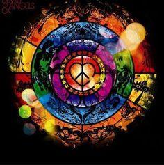 ➳➳➳☮ American Hippie Art ~ Peace Sign