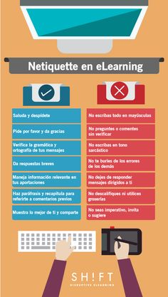 Because I am a foreign language education major I thought this post would be cool. I would be able to share the rules of netiquette while also bettering their language comprehension skills.