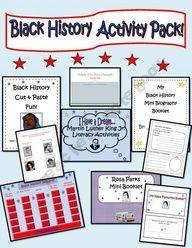 Black History Super Activity Pack!