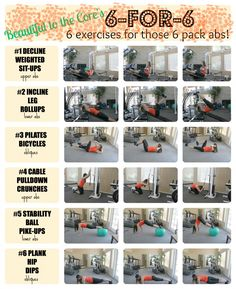 6 pack abs complete