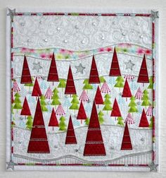 Hip Holiday wall quilt by Susanne Menne seen at Craftsy.com