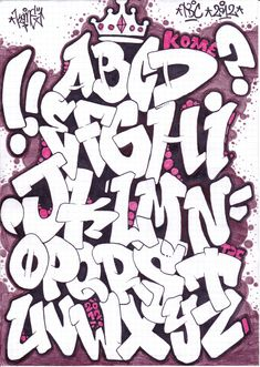 Graffiti Alphabet | Graffiti Alphabet Sketches Review « Art of Life