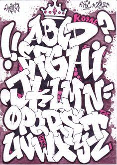 Graffiti Alphabet | Graffiti Alphabet Sketches Review « Art of Life