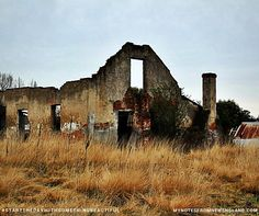 My Notes from New England: Tenterfield Top 10 - #9 The old Tenterfield Station ruins, a special place that always reminds me of the Moors and the Brontes.