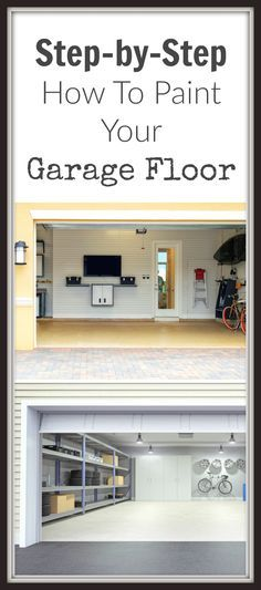 Painting your garage floor is an easy way to spruce up your garage or create more living space in your home. The first step is to purchase high quality paint …