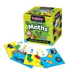 Este nuevo BrainBox pretende contribuir al acercamiento de los primeros conceptos matemáticos a los niños a partir de 5 años a través de ent...