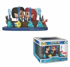 Funko Makes A Splash With New The Little Mermaid POP! Figures Funko is diving into the Anniversary of The Little Mermaid, with two gorgeous new POP! The new The Little Mermaid POP! figures by Funko Disney Pop, Disney Merch, Funk Pop, Pixar, Disney Little Mermaids, The Little Mermaid, Funko Pop Display, Mermaid Movies, Funko Pop Dolls