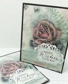 NEW! Custom-Color Your Patterned Papers video tutorial by SOMHS!