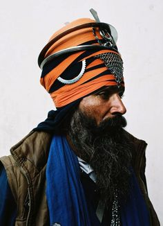 Nihang sikhs, India.