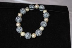 Pearl and Clay Bracelet £12.99