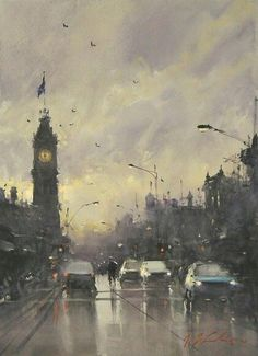 Joseph Zbukvic | Watercolor. Joseph Zbukvic | City Artspiration