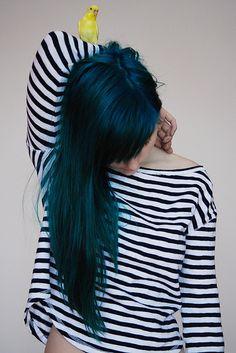 Love this darker turquoise