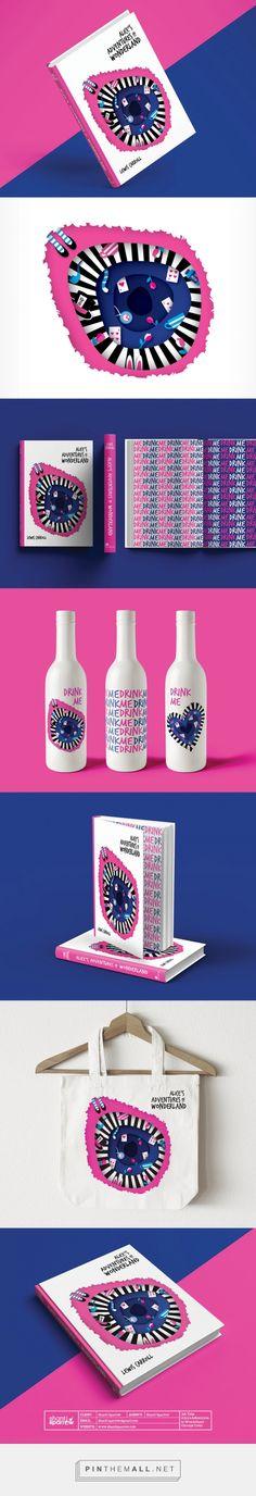 Alice's Adventure in Wonderland Branding by Shanti Sparrow   Fivestar Branding – Design and Branding Agency & Inspiration Gallery