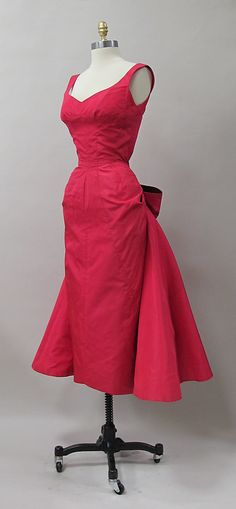 1952 Cocktail Dress by Charles James
