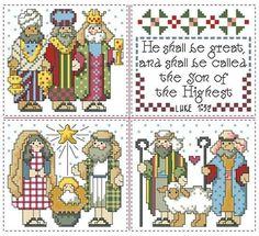 Resultado de imagen para THE HOLY FAMILY IN CROSS STITCH