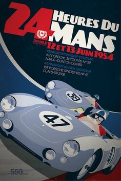 New updated type550.com racing posters. More vintage looking and will be sold as limited edition large poster prints - stay tuned…