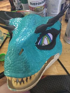 Dinosaur Mask, Fursuit, My Girl, Masks, Face Masks
