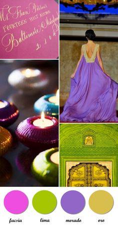 Colour Board-Oriental dream