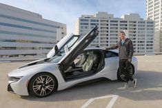 """#CelebTuesday - Professional Gamer #MatthewHaag picks up a BMW i8 Some of you might know of Matthew Haag a.k.a """" #OpTicNaDeSHoT """", and for those who don't, just know that he is a Professional Gamer. That's right, he basically plays video games for a living and happens to be doing quite well at it. So well that he recently bought a new white BMW i8. An appropriately futuristic car for a guy who is clearly ahead of his time.   s #BMWI8 #BMWI8kochi #BMWI8Series #MatthewhaagBMWI8 #Matthewhaagbmw"""
