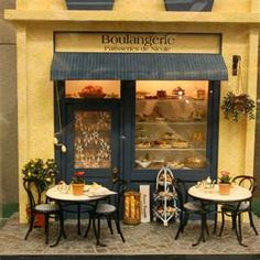 This is charming. French cafe.