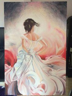 Yaptığım yağlı boya tablo