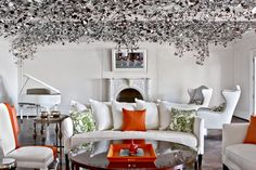 Max Azria House by Michael Mundy #michaelmundy #photography #architectural #interiordesign #interiorphotography #interior #design #maxazria #colors #silver #trafficnyc