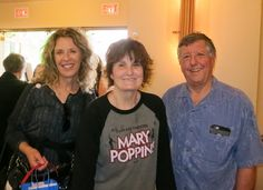 """Jacque Jabs/Special to the Record Searchlight.   Left to right: Kathy Benedetti, Debbie Fisher and Bill Benedetti, all of Redding, attend """"Mary Poppins"""" on Sunday at the Cascade Theatre in Redding. Go to www.redding.com for more Scene! photo galleries."""