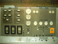Control Panel and SCRAM Switch by Screaming Ape, via Flickr
