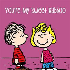 you're my sweet Baboo