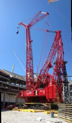 Cranes Used Construction Equipment, Construction Machines, Manitowoc Cranes, Crane Lift, Crawler Crane, Heavy Machinery, Heavy Equipment, Big Trucks, Tractors