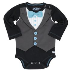 Pañalero Corbata Azul Ruffle Butts - Bebitos